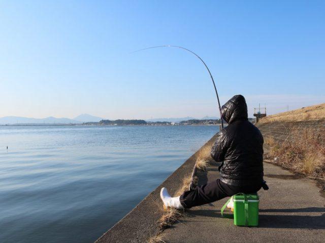 霞ヶ浦 釣り人